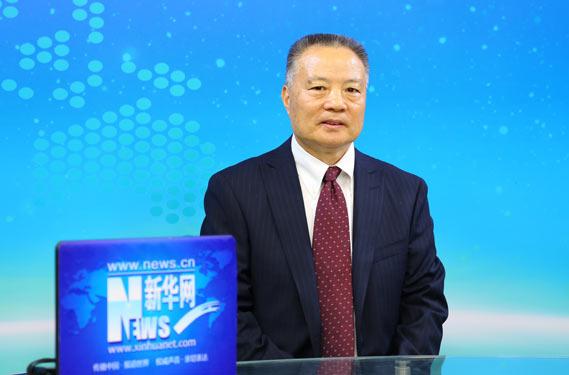 中國工程院院士侯立安做客新華網