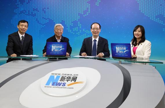 呂大鵬、柴志明、喬映賓在訪談現場