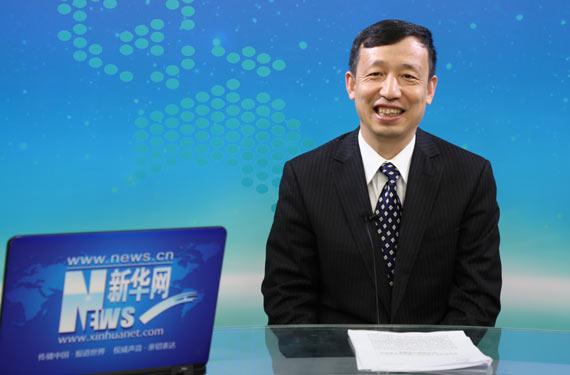 中國石化銷售有限公司副總經理柴志明在訪談中