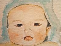 媽媽200多幅手繪記錄孩子成長
