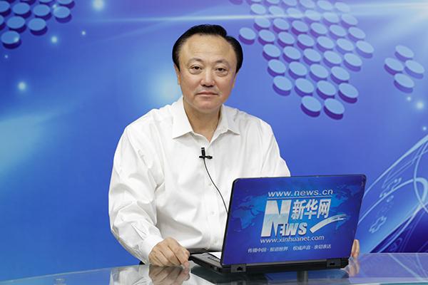 中國石化河北石油分公司總經理田鳳林做客新華會客廳