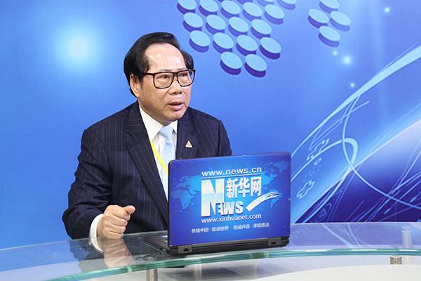 金科偉業(中國)有限公司董事長馮柏喬博士作客新華會客廳