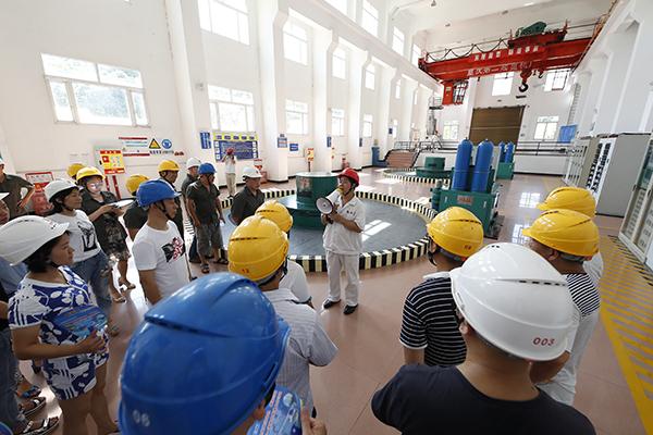 提供清潔電力 點亮美好生活——大唐渝能集團公司迎來首屆企業開放日活動