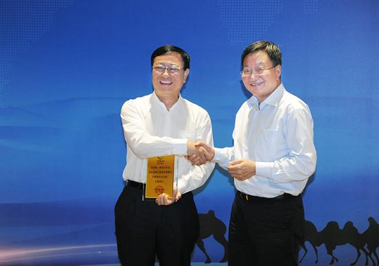 陳進行當選絲綢之路商務理事會中國委員會主席