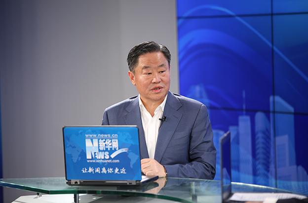 中化集團黨組書記、董事長寧高寧做客新華網