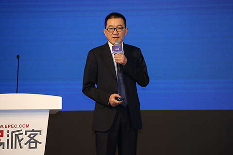 中國石化物資裝備部主任、國際事業公司總經理王玉冰發言