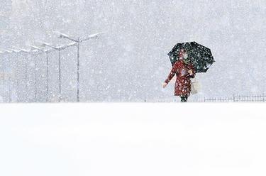 吉林長春大雪紛飛