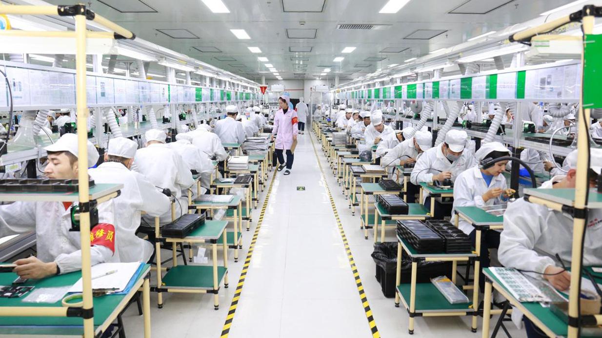 正威新疆新材料産業園開園暨10萬噸精密銅線項目投産