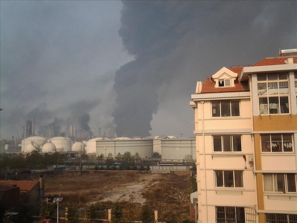 青岛开发区管线泄漏爆燃事故
