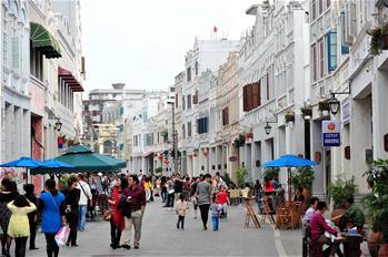 騎樓老街:海南文化地標