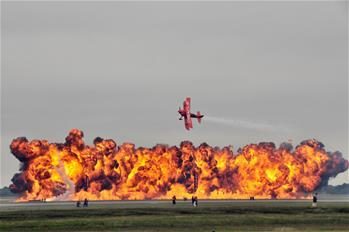 休斯敦航空展開幕