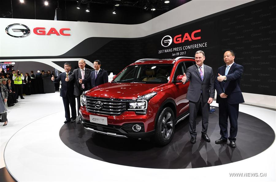 Chinese Companies Pop Stars At Detroit Auto Show Xinhua English - Auto show usa