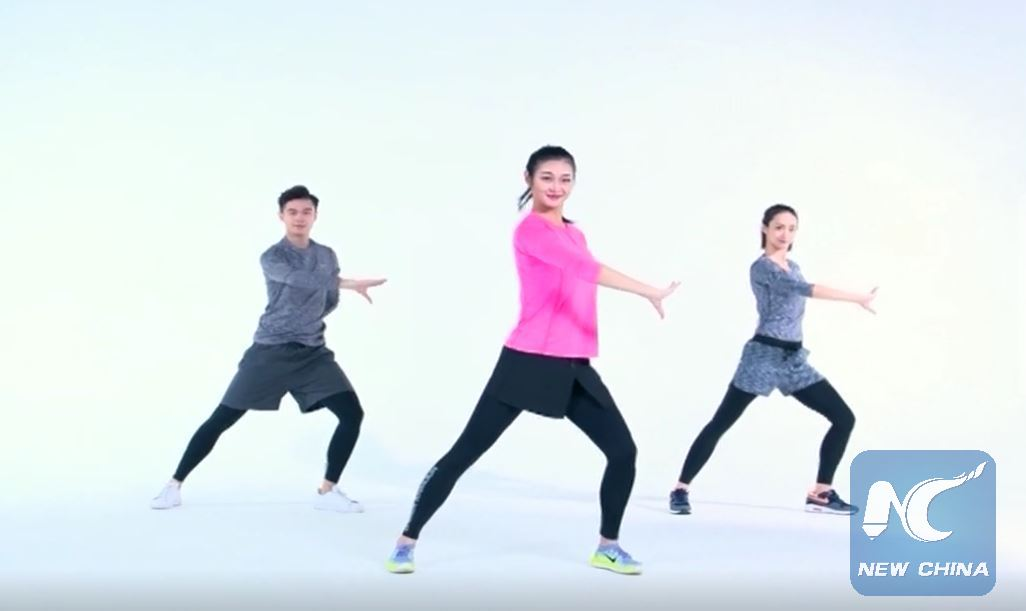 Art of the fittest: Opera calisthenics go viral in China
