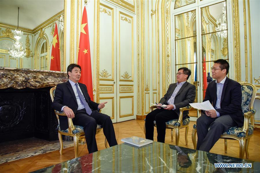 FRANCE-PARIS-SINO-FRANCE RELATIONSHIP-ZHAI JUN-INTERVIEW