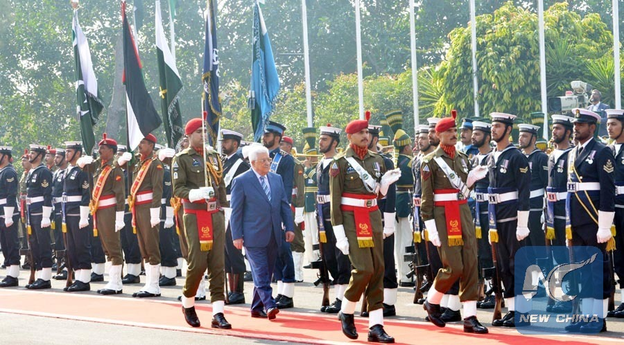 President house of pakistan pictures flag