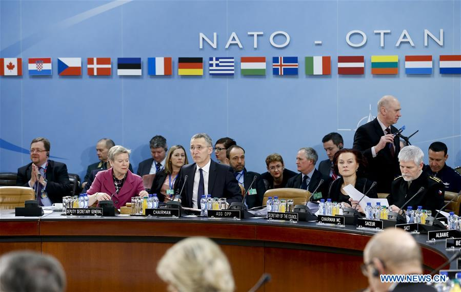 BELGIUM-BRUSSELS-NATO-DEFENCE MINISTER-MEETING