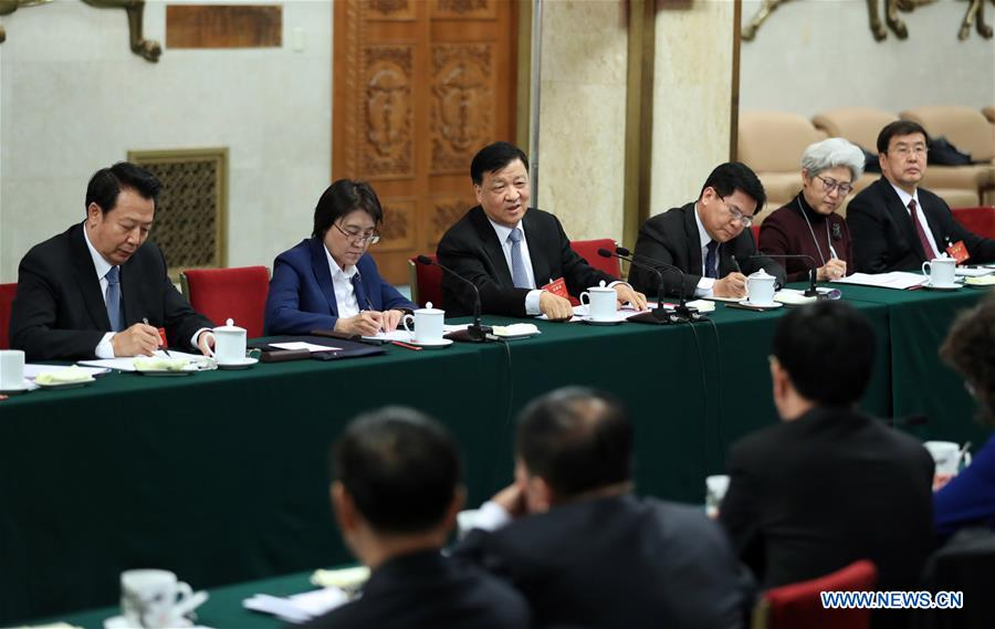 (TWO SESSIONS)CHINA-BEIJING-LIU YUNSHAN-NPC-PANEL DISCUSSION (CN)