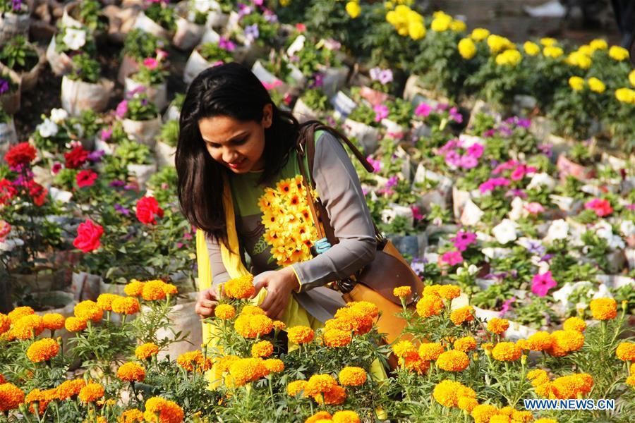 BANGLADESH-DHAKA-FLOWER FEST