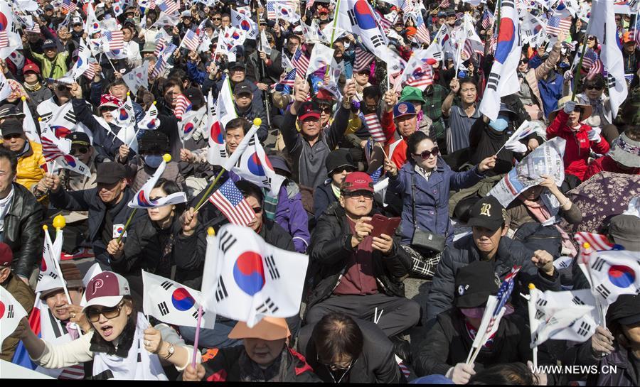 SOUTH KOREA-SEOUL-PROTEST-PARK GEUN-HYE