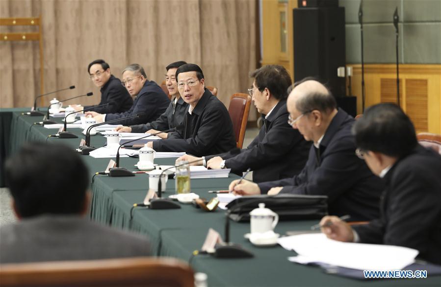 CHINA-BEIJING-ZHANG GAOLI-CONFERENCE (CN)