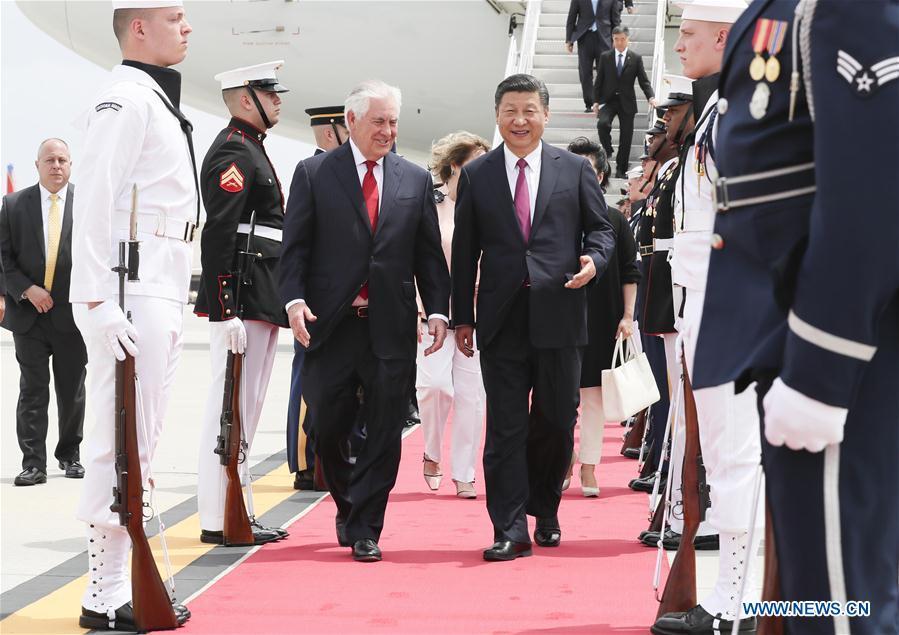 U.S.-CHINA-XI JINPING-ARRIVAL