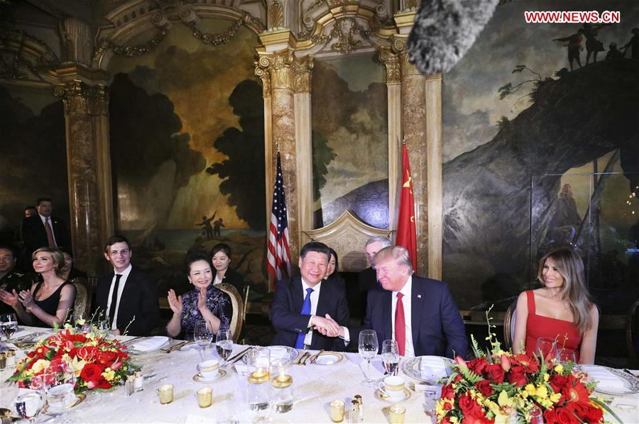 U.S.-CHINA-XI JINPING-TRUMP-BANQUET