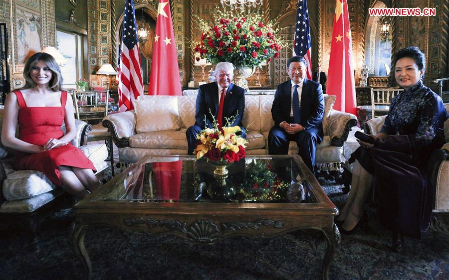 U.S.-CHINA-XI JINPING-TRUMP-MEETING