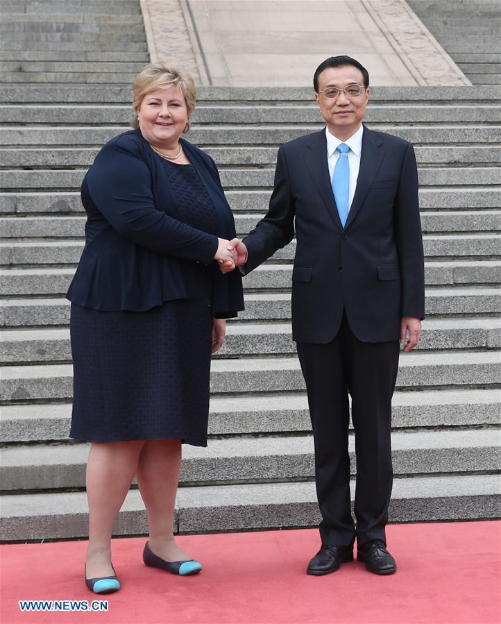 CHINA-BEIJING-LI KEQIANG-NORWAY-PM-TALKS (CN)