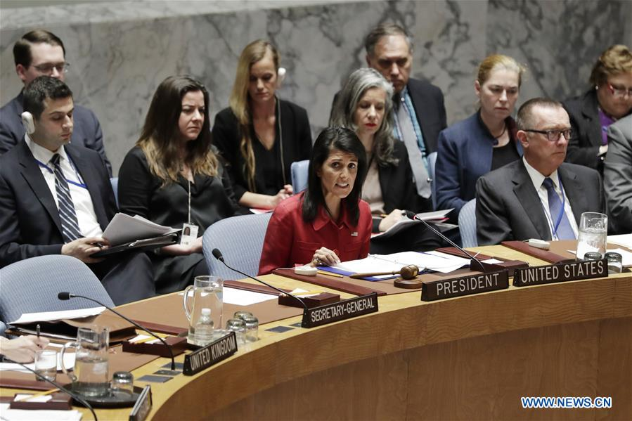 UN-SECURITY COUNCIL-SYRIA-EMERGENCY SESSION
