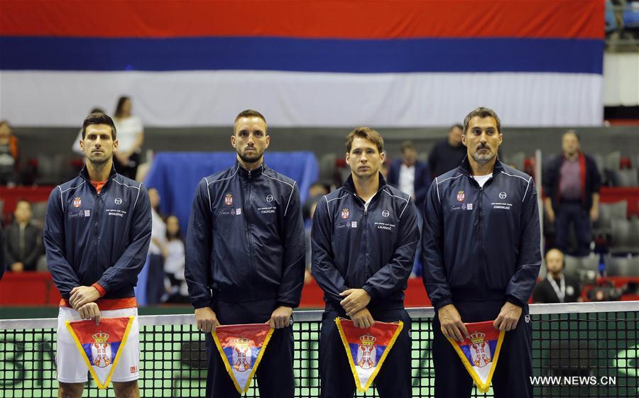 (SP)SERBIA-BELGRADE-DAVIS CUP-SERBIA VS SPAIN
