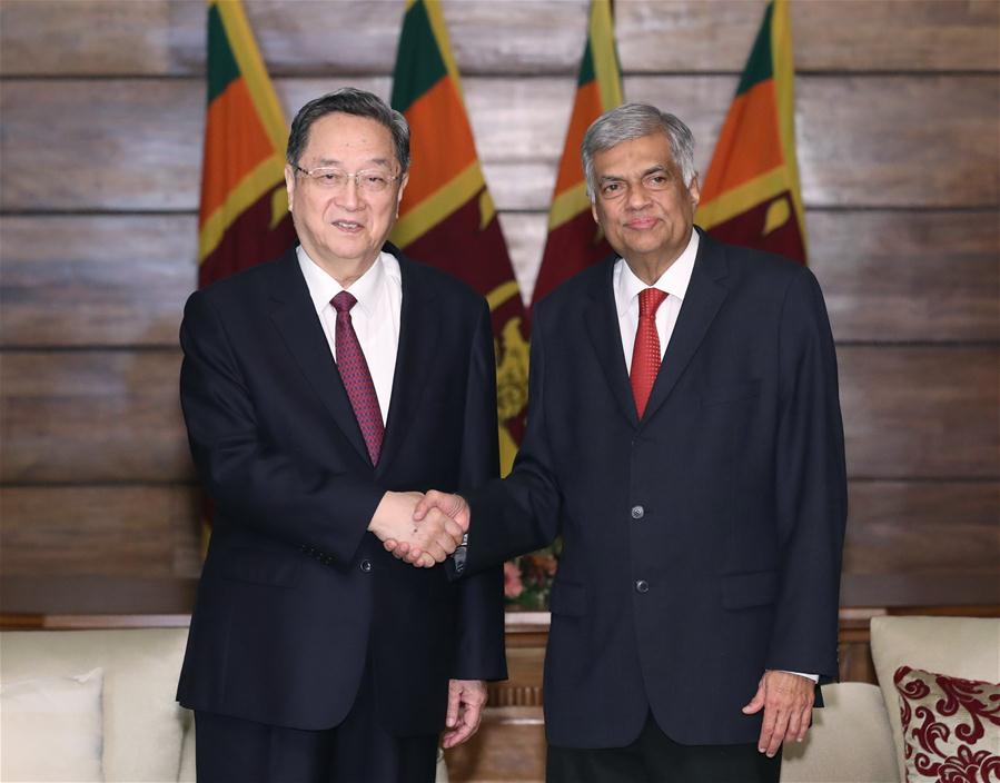 SRI LANKA-CHINA-YU ZHENGSHENG-VISIT