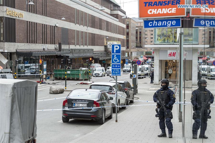 SWEDEN-STOCKHOLM-TRUCK-ATTACK-SITE