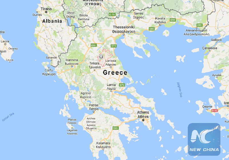Day Mourning Declared In Greek Air Force After Helicopter Crash - Greece location