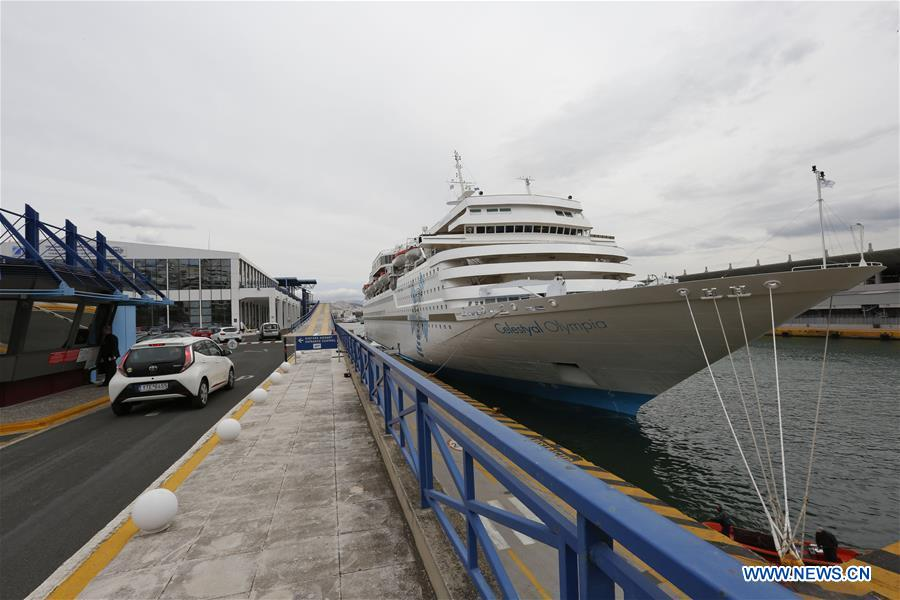 First Cruise Ship With Chinese Group Tourists Sets Sail From Greek - Chinese cruise ship