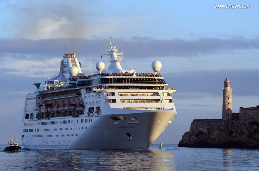 US Cruise Liner Empress Of The Seas Arrives In Havana Xinhua - Empress of the seas cruise ship