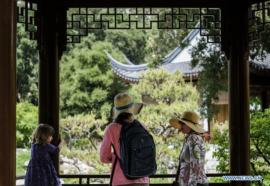 US LOS ANGELES CHINESE GARDEN