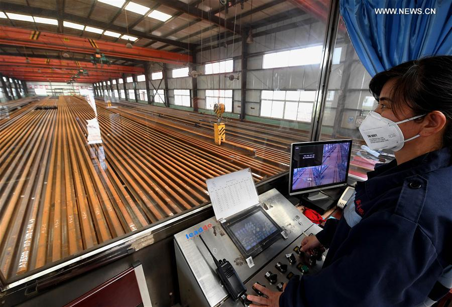 Welded rail tracks provided for China's high-speed railway