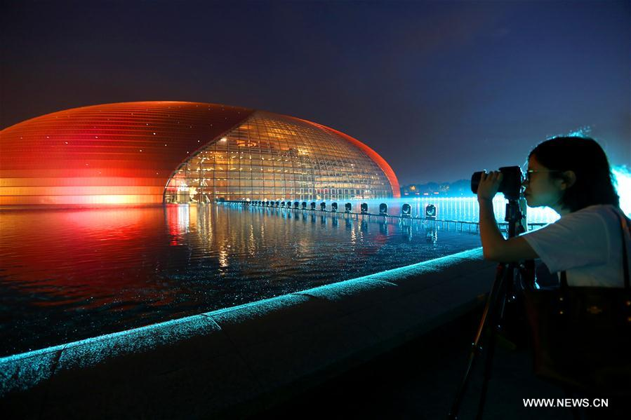 Landscape lighting to illuminate beijing to greet belt and road china beijing belt and road landscape lighting cn mozeypictures Choice Image