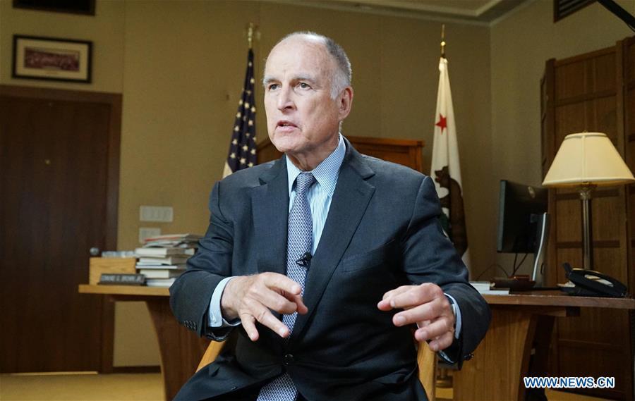 U.S.-CALIFORNIA-GOVERNOR-INTERVIEW