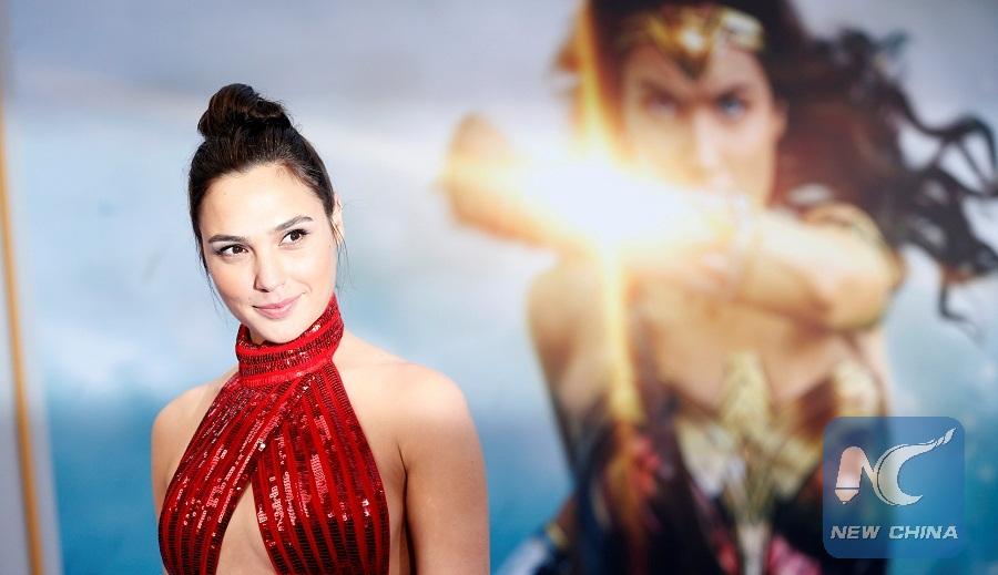 Cast Member Gal Gadot Poses At The Premiere Of Wonder Woman In Los Angeles California U S May 25 2017 Xinhua Reuters Photo