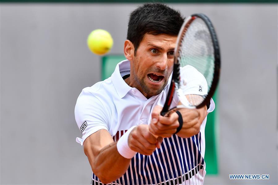 Djokovic Misses French Open Semi Finals Halep Finishes Epic Comeback Xinhua English News Cn