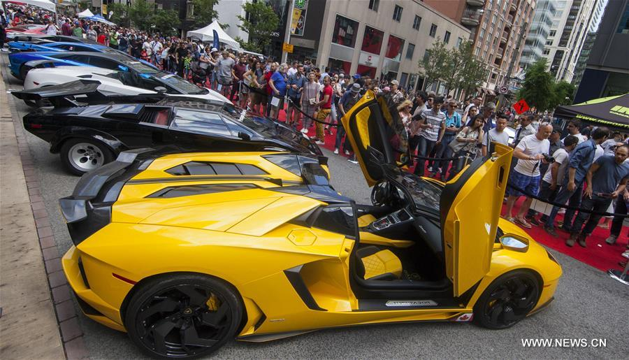 Th Annual Yorkville Exotic Car Show Held In Toronto Xinhua - Exotic car show near me