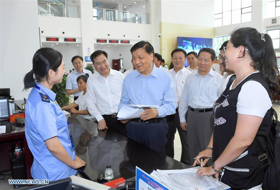 CHINA-LIAONING-LIU YUNSHAN-INSPECTION(CN)