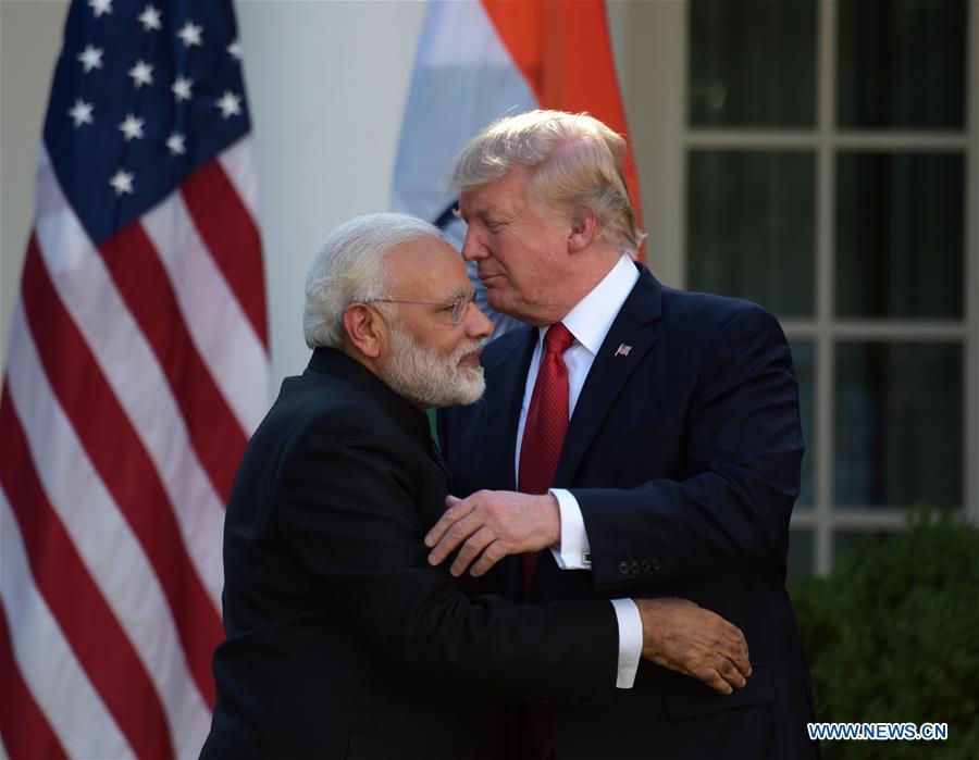 U.S.-WASHINGTON D.C.-INDIA-MODI-VISIT-TRUMP