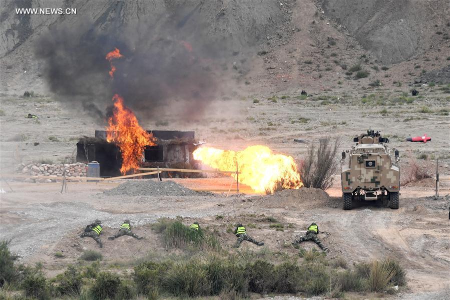 CHINA-KYRGYZSTAN-ANTI-TERROR-DRILL (CN)