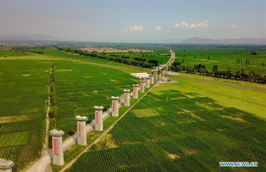 CHINA-BEIJING-ZHANGJIAKOU-HIGH-SPEED RAILWAY-CONSTRUCTION (CN)