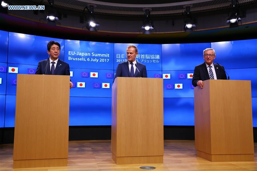 Eu Japan Conclude Political Agreement On Free Trade Deal Xinhua