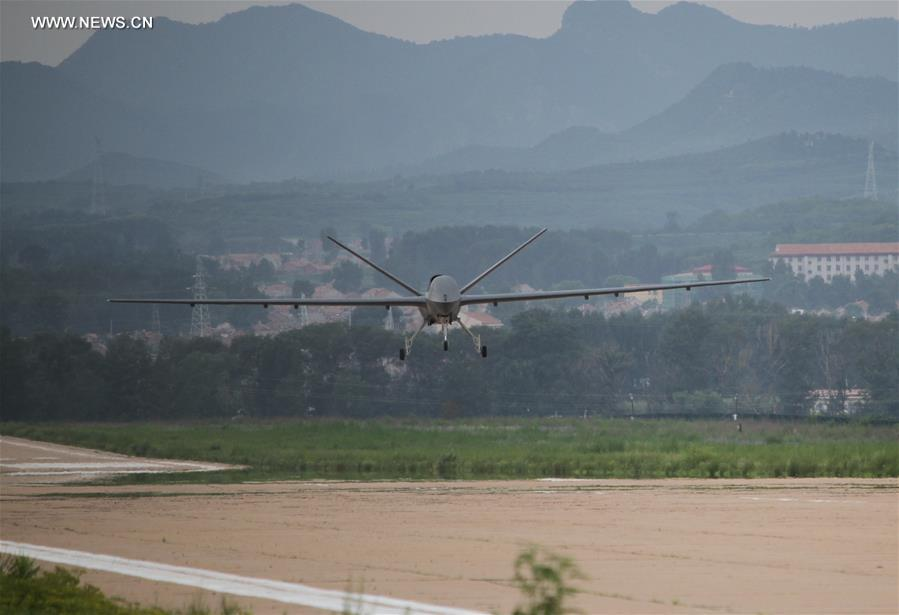 CHINA-HEBEI-CH-5 DRONE-TRIAL FLIGHT (CN)