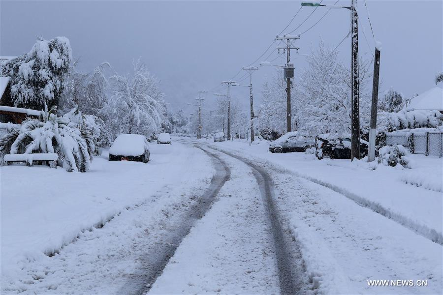 Extreme Weather Affects Chile Xinhua English News Cn