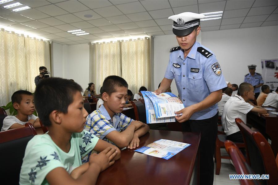 CHINA-NINGXIA-TRAFFIC SAFETY EDUCATION (CN)